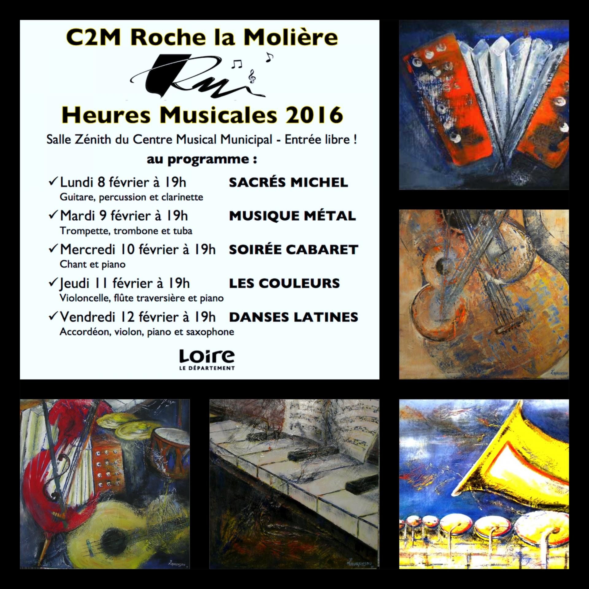 Heures musicales 2016