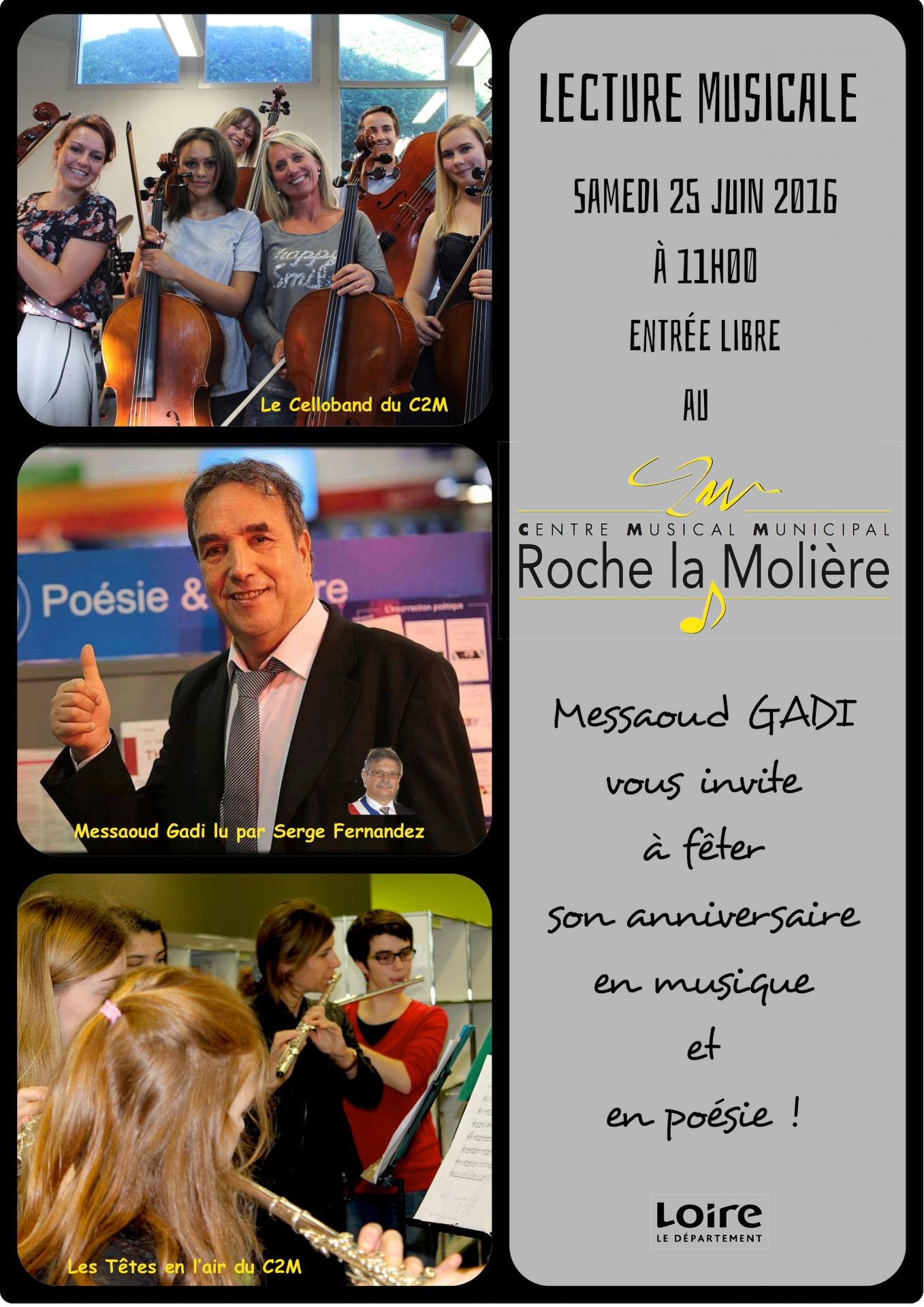Lecture musicale 25 juin